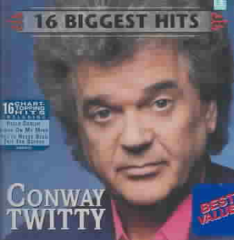 16 BIGGEST HITS BY TWITTY,CONWAY (CD)
