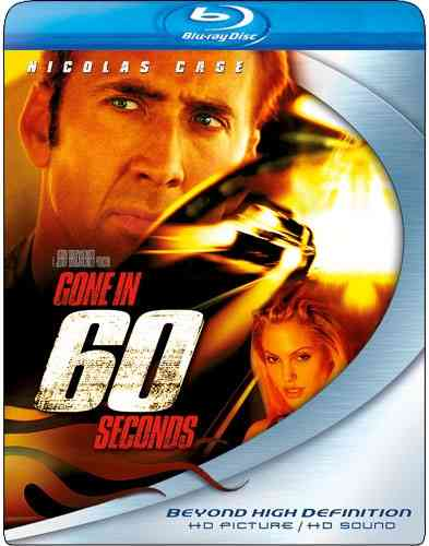 GONE IN 60 SECONDS BY CAGE,NICOLAS (Blu-Ray)